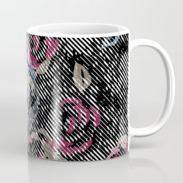 Graphic Rose Coffee Mug