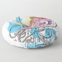 Octopus Ink Floor Pillow