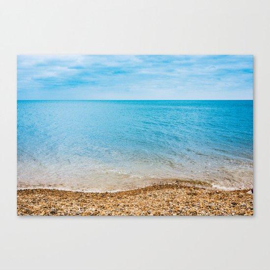 As Free As The Ocean Canvas Print