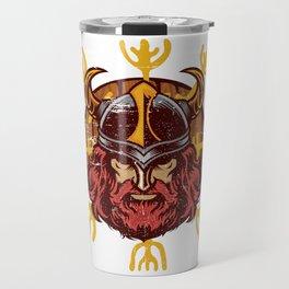 Viking Odin | Valhalla Warrior Travel Mug