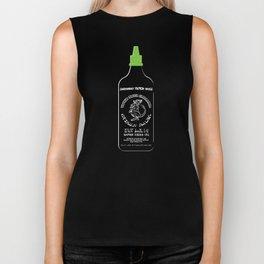Pass The Yamok Sauce (Clear Bottle Ver) Biker Tank