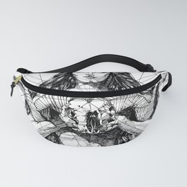 Lady with Skull. Yury Fadeev. Fanny Pack