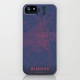Bishkek, Kyrgyzstan - Neon iPhone Case