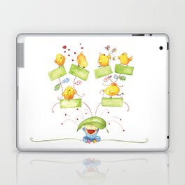 Baby family tree Laptop & iPad Skin