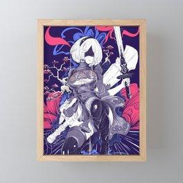 YoRHa No.2 Type B Framed Mini Art Print
