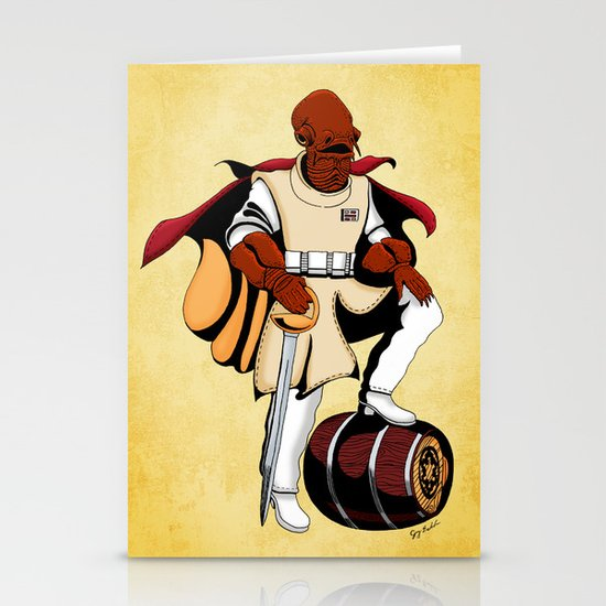 Captain Ackbar Stationery Cards