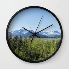 Along the Seward Highway, No. 1 Wall Clock