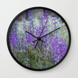Color in the High Desert Wall Clock