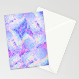 Pink Gemstone Stationery Cards