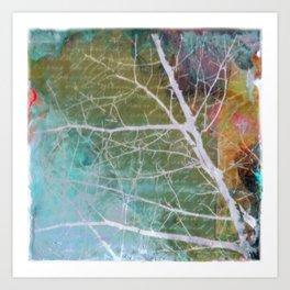 spring silk Art Print