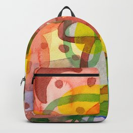 Blurry Mushroom and other Things Backpack