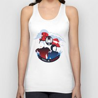 pacific rim Tank Tops featuring Pacific Rim: All Hail the Queens by MNM Studios
