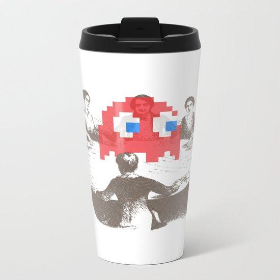 Medium Difficulty Metal Travel Mug