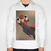 dick Hoodies featuring Dick Turpin by Eco Comics