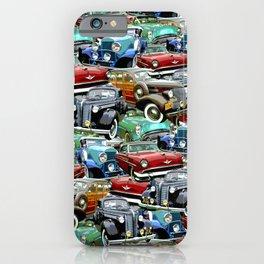Classic Cars (K.T.B.) iPhone Case
