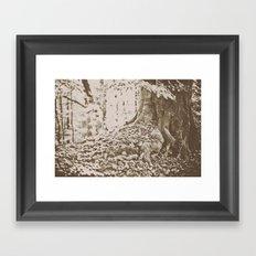 Knotted Framed Art Print