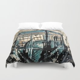 TARDIS from Doctor Who Duvet Cover