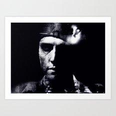 Hommage to Christopher Walken Art Print