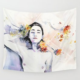 A new morning Wall Tapestry