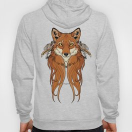 Tribal Fox Hoody