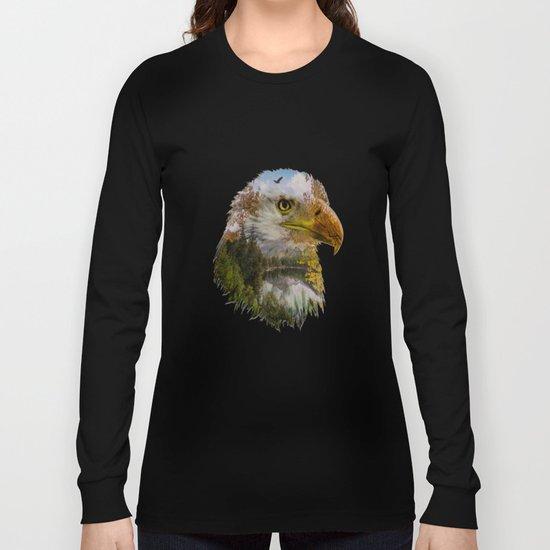 The American Bald Eagle Long Sleeve T-shirt