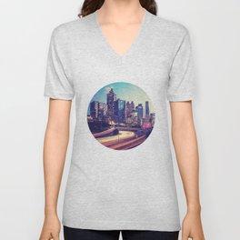Atlanta Downtown Unisex V-Neck