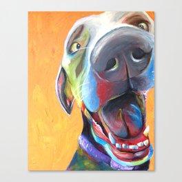 Pupper Canvas Print