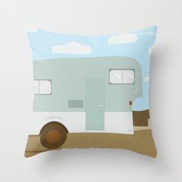 Slow Down Throw Pillow
