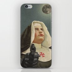 NUN WITH A GUN iPhone & iPod Skin