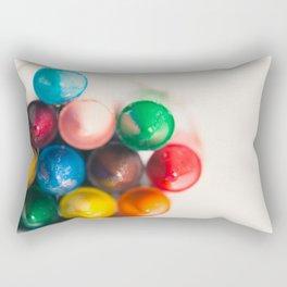 Bundle of Crayons Rectangular Pillow