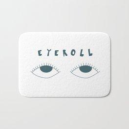 eyeroll Bath Mat