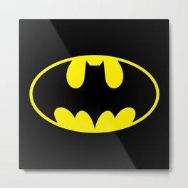The Bat Man Metal Print