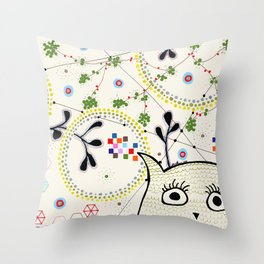 Yoshi Nightsky Throw Pillow