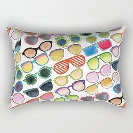 Sunglasses by Veronique de Jong Rectangular Pillow
