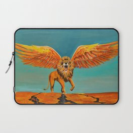 The Conquering Lion Laptop Sleeve