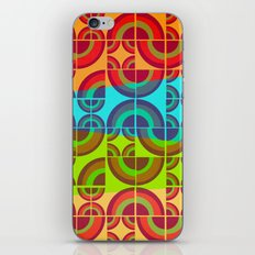 Vintage Candy Pattern iPhone & iPod Skin