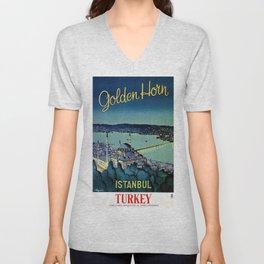 Golden Horn Istanbul Unisex V-Neck