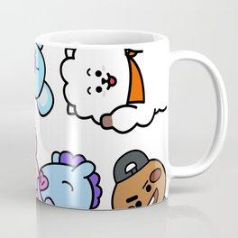 BT21 BTS Run Episode 33 Inspired Coffee Mug