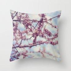 Niagara Blossoms Throw Pillow