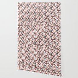 Pop Flower Belt Wallpaper