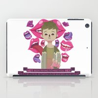 pixies iPad Cases featuring Illustrated Songs - Hey by Cristian Barbeito