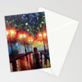 Ted and Tracy Mosby Stationery Cards