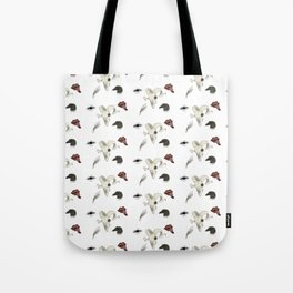 Creepy Pattern Tote Bag