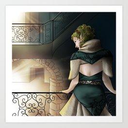 Elf Art Print