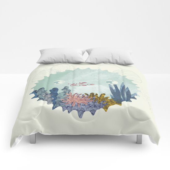 balloon fish Comforters