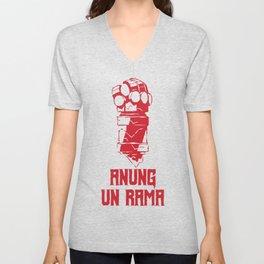 Anung Un Rama Design Unisex V-Neck