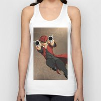 dick Tank Tops featuring Dick Turpin by Eco Comics