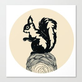 L'ecureuil Canvas Print