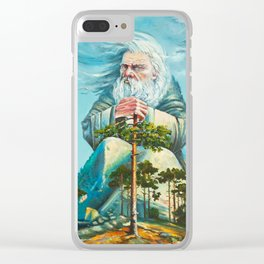 forest god Clear iPhone Case