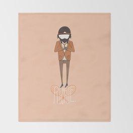 Richie T Throw Blanket
